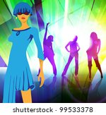 party background | Shutterstock .eps vector #99533378
