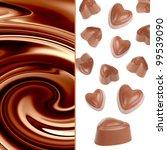 Chocolate candy - stock photo