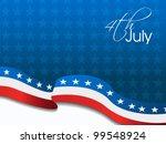 american flag  vector...   Shutterstock .eps vector #99548924