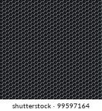 hexagon grid seamless... | Shutterstock . vector #99597164