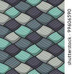 seamless wallpaper pattern.   Shutterstock .eps vector #99606590