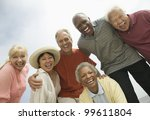 group of friends laughing | Shutterstock . vector #99611804