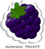 cartoon blueberry | Shutterstock .eps vector #99614279