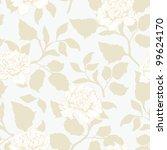 seamless floral pattern.... | Shutterstock .eps vector #99624170