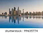 the business district of dubai   Shutterstock . vector #99635774