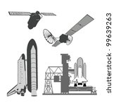 vector illustration .space... | Shutterstock .eps vector #99639263