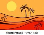 palm trees | Shutterstock .eps vector #9964750