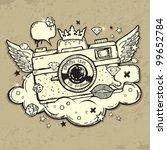 illustration of grunge photo... | Shutterstock .eps vector #99652784