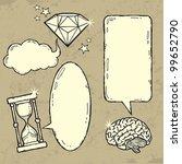 set of grunge elements | Shutterstock .eps vector #99652790