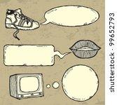 set of grunge elements | Shutterstock .eps vector #99652793