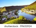 Rhine Valley At Cochem Town ...