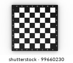 empty colorless chess board... | Shutterstock . vector #99660230