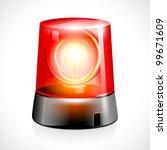 vector illustration of red... | Shutterstock .eps vector #99671609