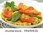 couscous with vegetables | Shutterstock . vector #99690920
