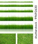 green fresh and natural 3d... | Shutterstock . vector #99692630