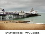 Eastbourne Pier And Beach....