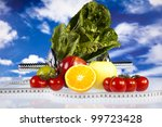 healthy lifestyle concept  diet ... | Shutterstock . vector #99723428