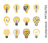 Light Bulb Idea. Collection Of...