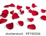 Stock photo rose petals background 99740336