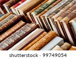 old books background | Shutterstock . vector #99749054