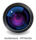 icon for camera lens. white... | Shutterstock .eps vector #99766226
