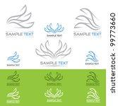 paper icons   vector... | Shutterstock .eps vector #99773660