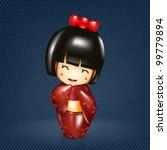 Japanese Doll  Geisha Doll