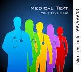 illustration of team of... | Shutterstock .eps vector #99796613