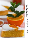 orange cake. | Shutterstock . vector #99797420