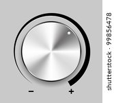 volume control  eps10 | Shutterstock .eps vector #99856478