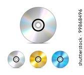 compact disc. vector... | Shutterstock .eps vector #99868496