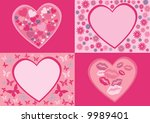 backgrounds for valentine's day. | Shutterstock . vector #9989401