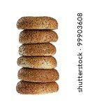 stack of half dozen freshly... | Shutterstock . vector #99903608