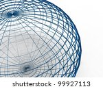 3d Illustration Of A Sphere Of...