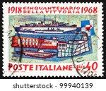 italy   circa 1968  a stamp... | Shutterstock . vector #99940139