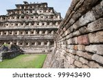 pyramid of the niches  el tajin ... | Shutterstock . vector #99943490