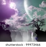 three dimensional nature ... | Shutterstock . vector #99973466