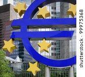 euro logo | Shutterstock . vector #99975368