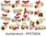 ball valve taps | Shutterstock . vector #99975836