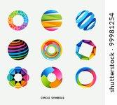 circle design symbols... | Shutterstock .eps vector #99981254