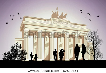 the brandenburger gate ancient