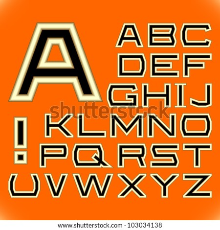 english alphabet a complete
