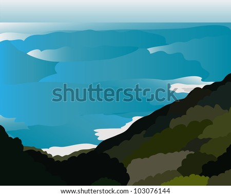 vector   islandconcept island