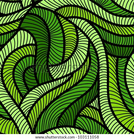 Green Leaf Pattern Background Free Vector Download 4040 Free Fascinating Green Pattern