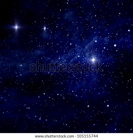 starry sky with planets - photo #41