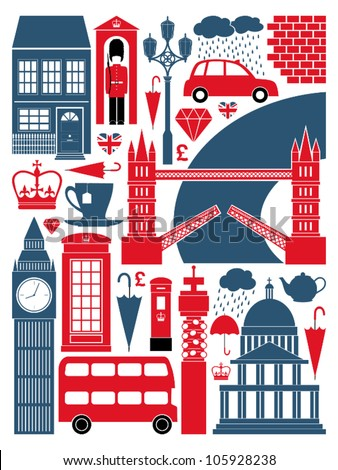 a set of london symbols and