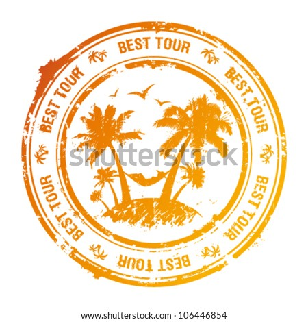 best tour rubber stamp with