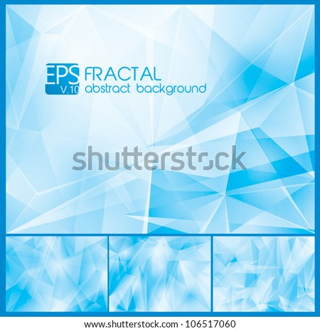fractal abstract background a