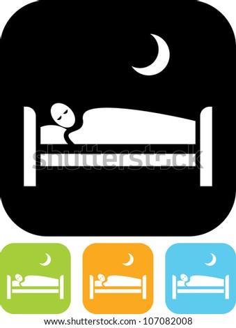 bedtime man sleeping in bed