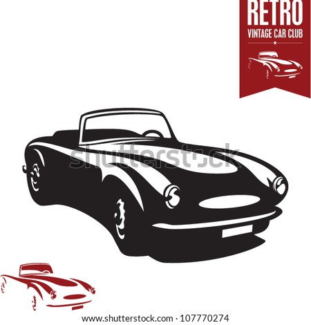 retro car vintage car sport